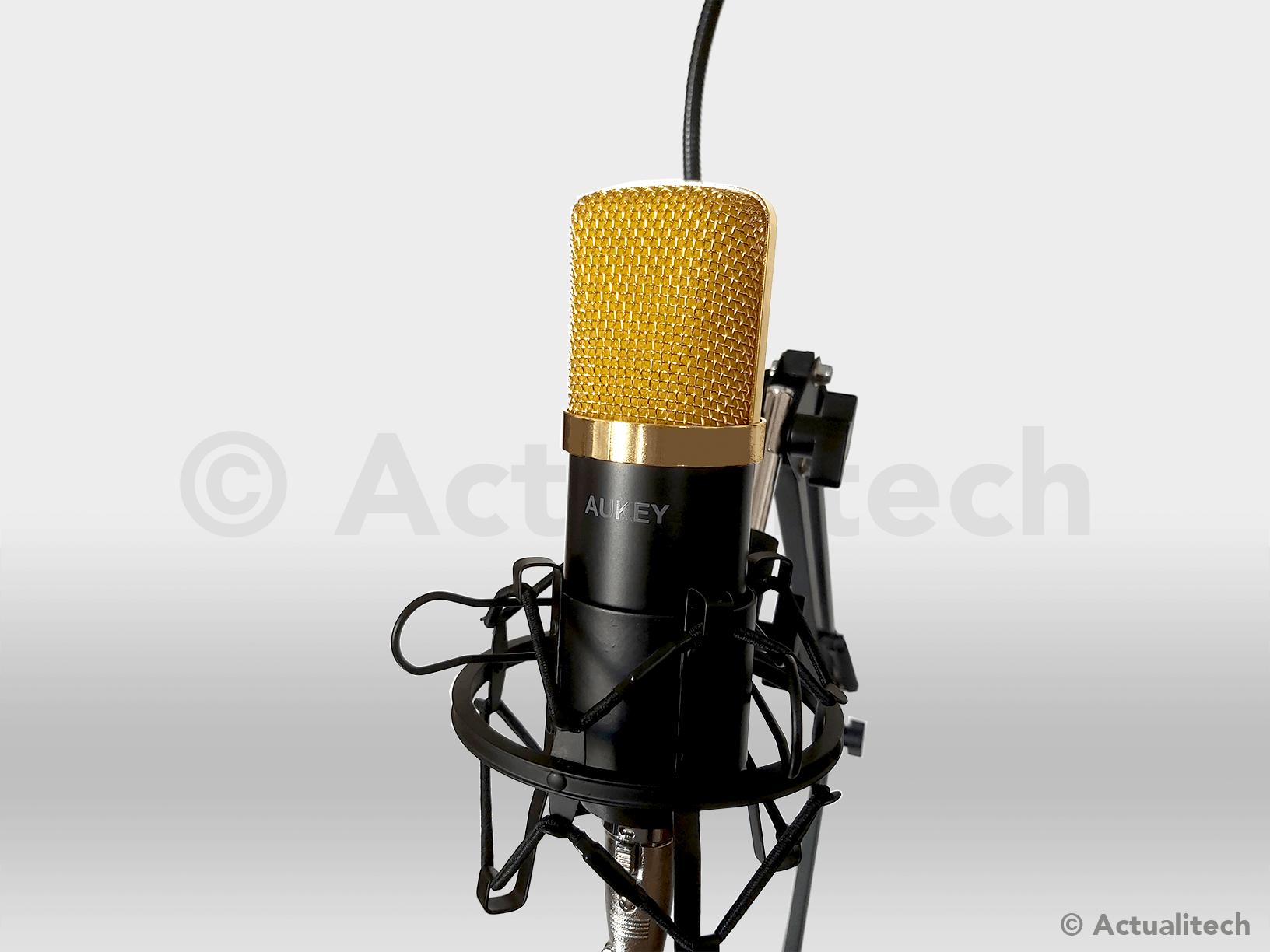 Microphone à condensateur Aukey GD-G1
